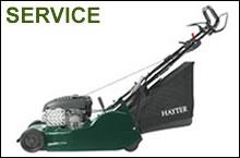 Garden machinery servicing